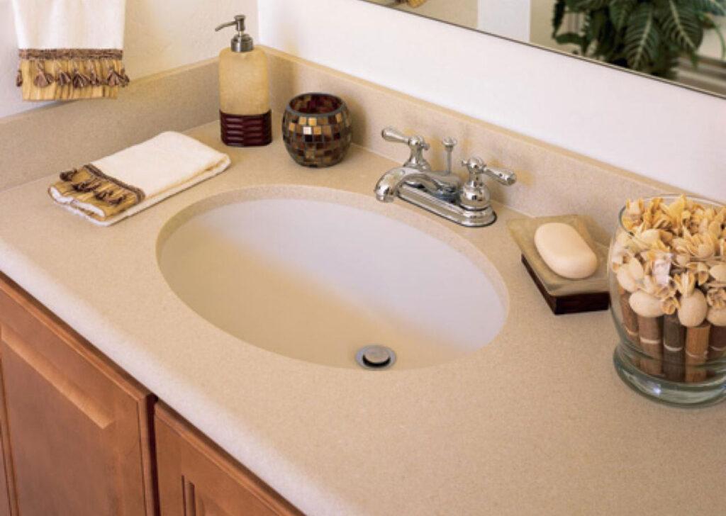 Akrilik Corian Banyo Tezgahı Modelleri