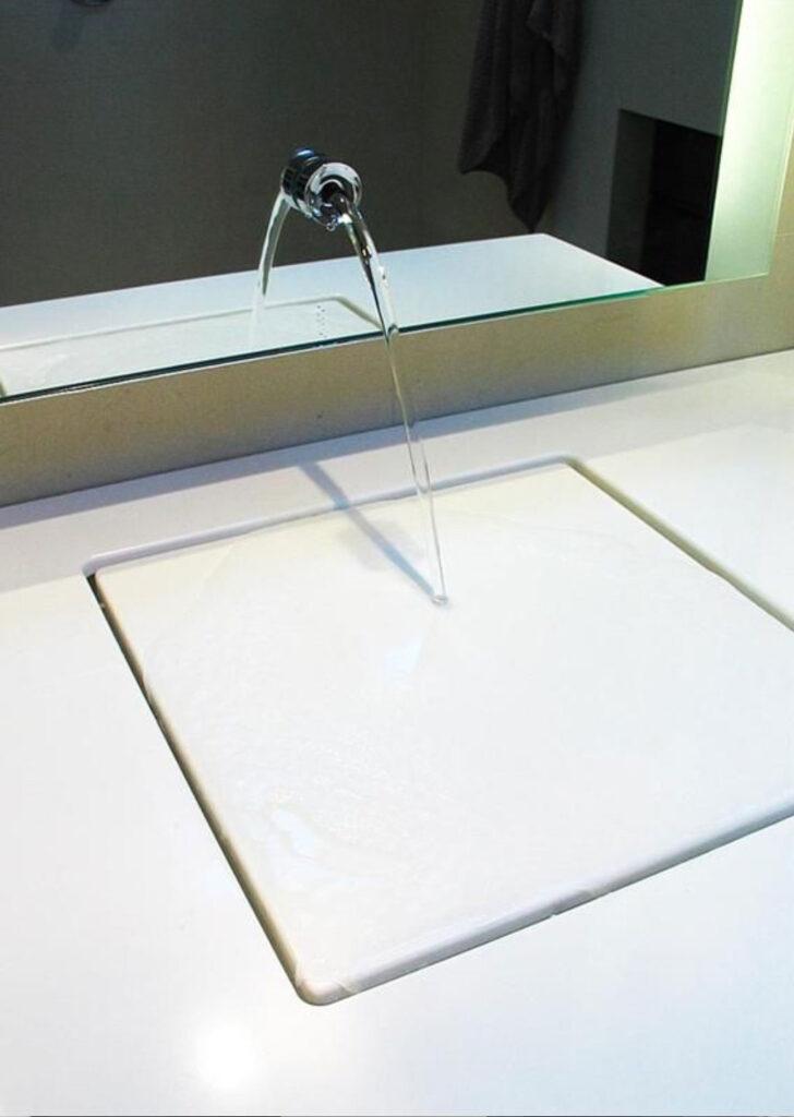 Gizli Giderli Banyo Lavabo