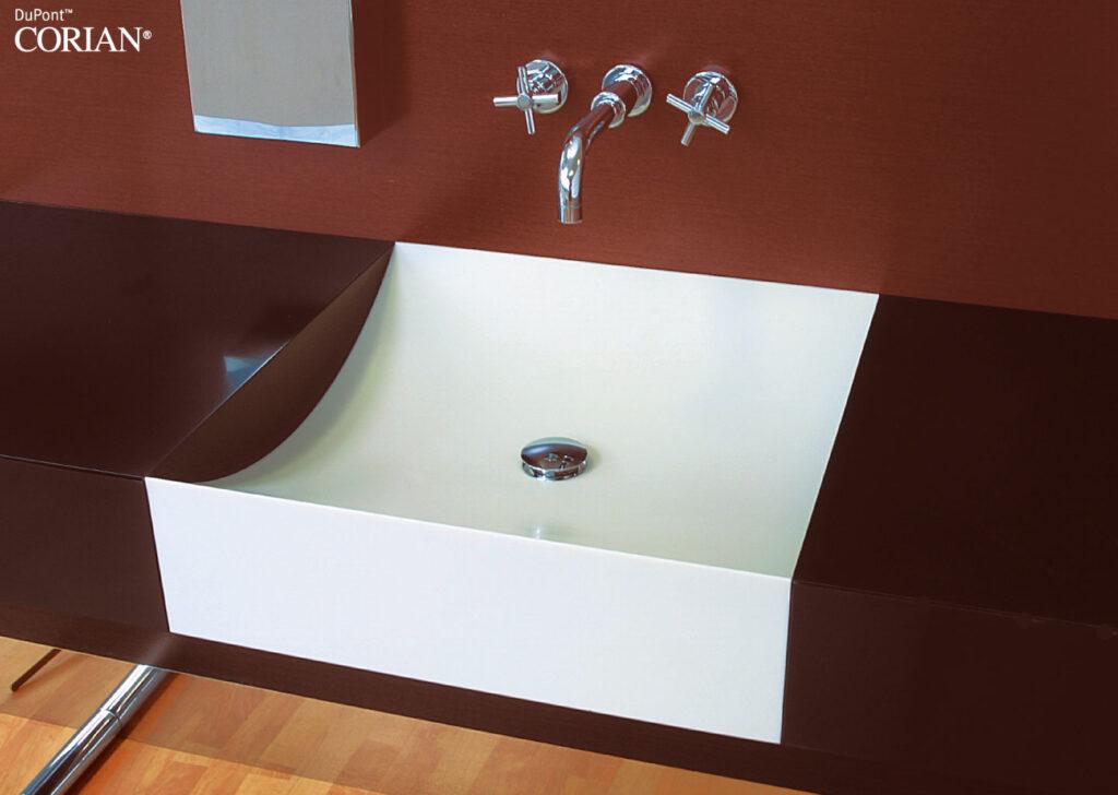 Corian Banyo Tezgahı Tasarımı
