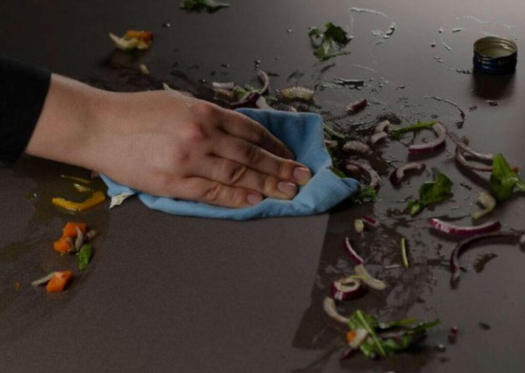 Corian mutfak tezgahı temizliği nasıl yapılır? Akrilik mutfak tezgahı temizliği nasıl yapılır? hakkında bilgiler.