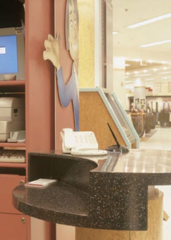 Havaalanı Servis Bankosu