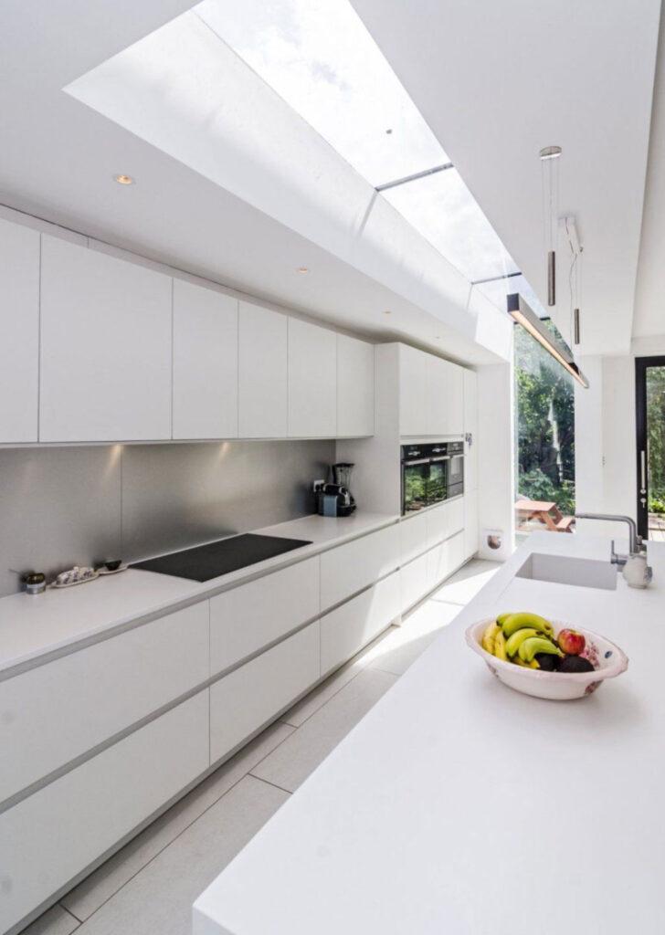 Beyaz Mutfak Tezgah Modelleri